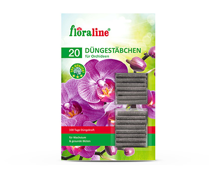 Floraline Orchid-Fertilizer Sticks
