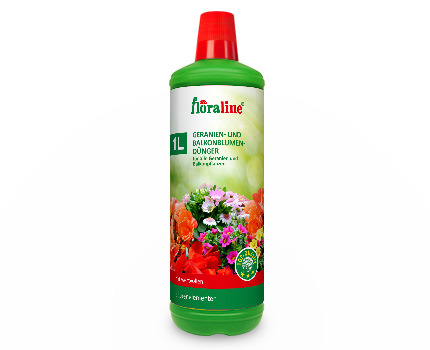 Floraline Geraniums- and Balcony Plant Fertilizer
