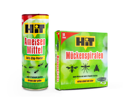 Hit Ants Remedy + Hit Mosquitoes Spiral